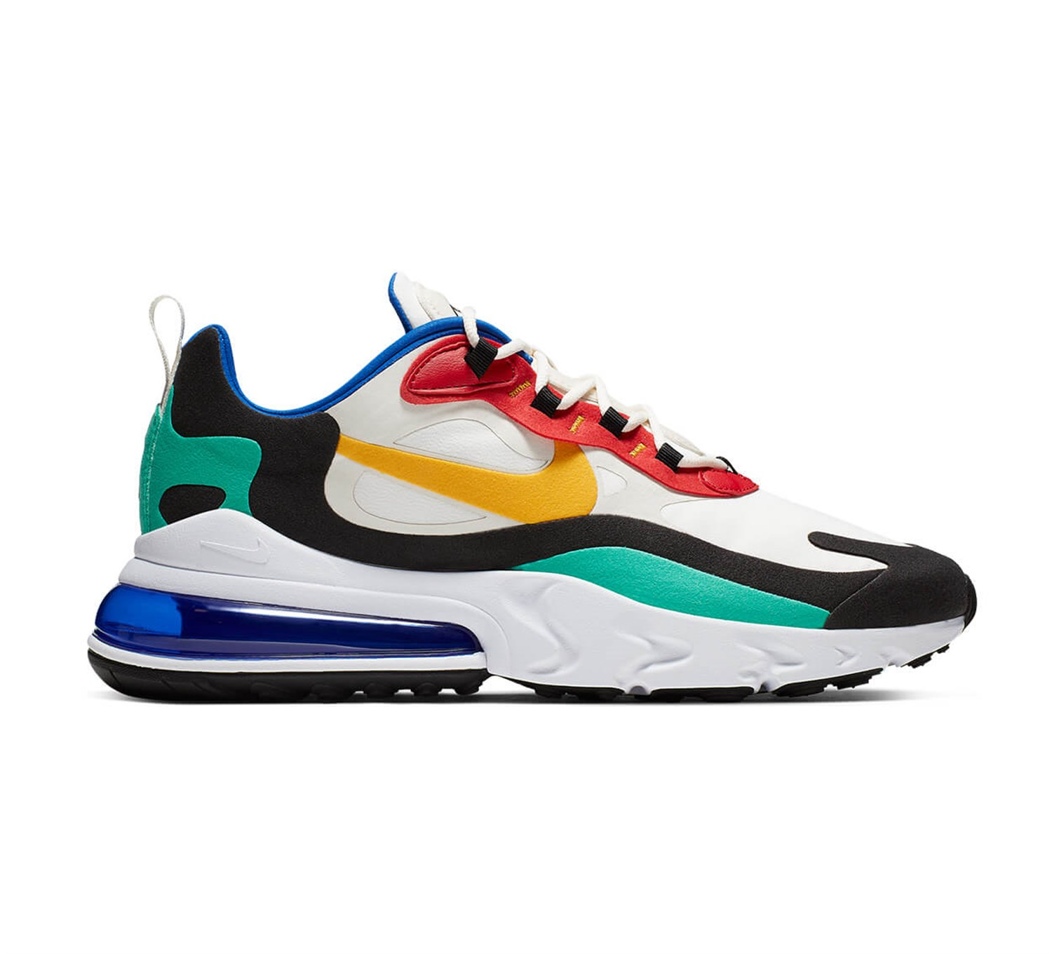 air max 270 react colorblocked kadın sneaker