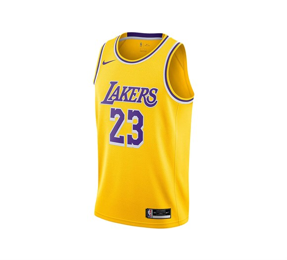 Nike NBA LeBron James Lakers Icon Edition 2020 Swingman Forma CW3669-734