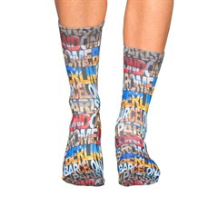 Wigglesteps Capital Cities Erkek Çorap 18AM67