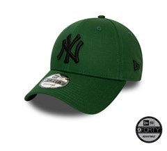 New Era New York Yankees Essential Green 9FORTY Unisex Şapka 12040432