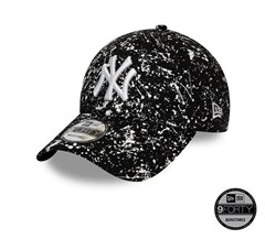 New Era New York Yankees Painted Black 9FORTY Unisex Şapka 12134846