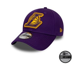 New Era Los Angeles Lakers Purple 39THIRTY Unisex Şapka 12040364