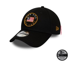 New Era USA Flagged Black 9FORTY Unisex Şapka 12134740