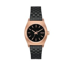 Nixon Small Time Teller Black / Rose / Black Kol Saati A399-2481